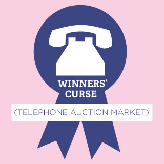 Winners Curse: Telephone Auction Market Bid Analysis