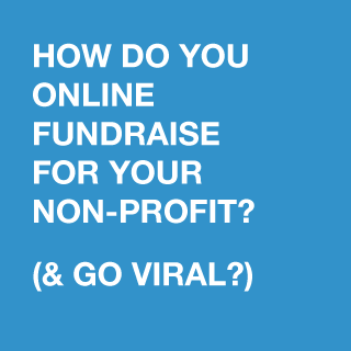 How do you fundraise for your non-profit online and make it go viral?